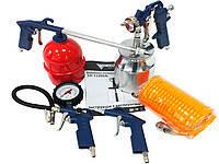 Набор пневмоинструментов  AT KIT-5S FORTE 32137 (Китай)
