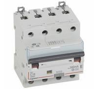 Дифференциальный автомат DX3 4П С 16A 300мА - АС (6kA) Legrand Легранд