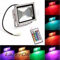 Светодиодный прожектор LedEX 50W RGB