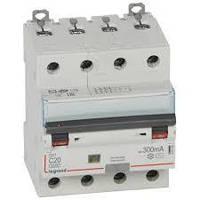 Дифференциальный автомат DX3 4П С 20A 300мА - АС (6kA) Legrand Легранд