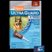Hartz (Хартц) UltraGuard PLUS Drops капли от блох, яиц блох, клещей и комаров для собак весом свыше 27 кг