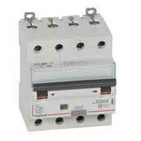 Дифференциальный автомат DX3 4П С 25A 300мА - АС (6kA) Legrand Легранд