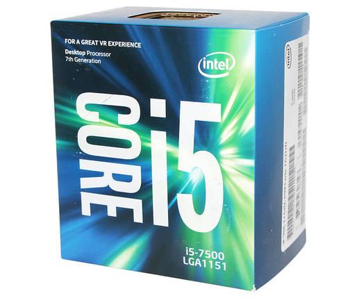 Процессор Intel Core i5 (LGA 1151) i5-7500, Box, процесор интел коре ай5, фото 2