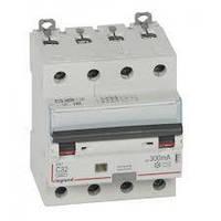 Дифференциальный автомат DX3 4П С 32A 300мА - АС (6kA) Legrand Легранд