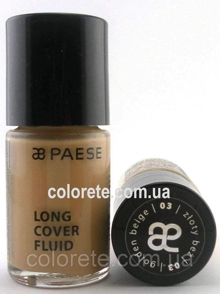 Paese Тональный крем Long Cover Fluid (03) Золотой Беж
