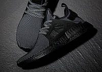 "Adidas NMD XR1 Primeknit ""Triple Black"""