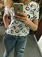 Женская футболка «Print», фото 1
