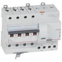 Дифференциальный автомат DX3 4П С 50A 300мА - АС (10kA 7 модулей) Legrand Легранд