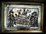 Ікона Успіння Пресвятої Богородиці з сріблом, фото 2