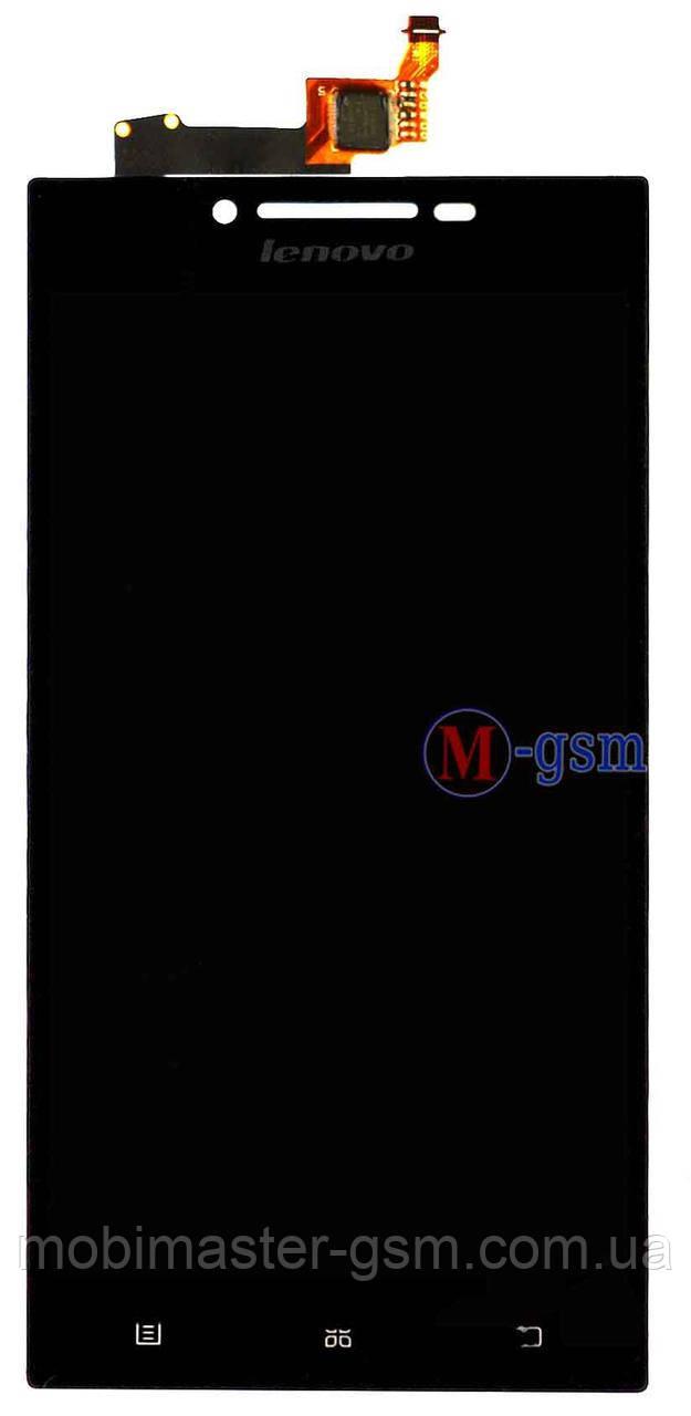 LCD модуль Lenovo P70 черный