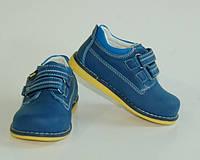 Туфли-полуботинки для мальчика Шалунишка 19 р, фото 1