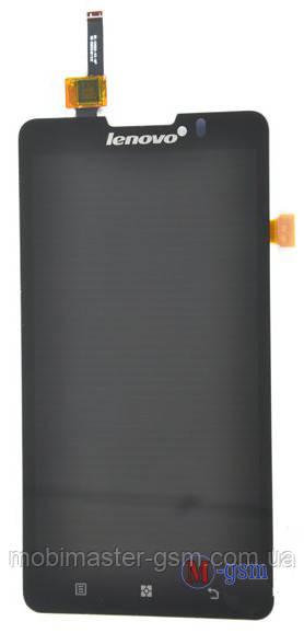 LCD модуль Lenovo P780 черный