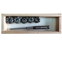 Набор зенкеров для сёдел клапанов ВАЗ 2110 (16 V) СНГ ШАР10-7Р (Днепр)