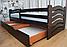 Кровать Микки Маус односпальная из массива бука, фото 4