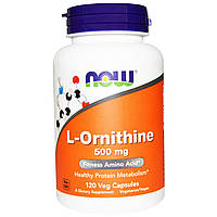 Орнитин / L-Ornithine, 500 мг 120 капсул