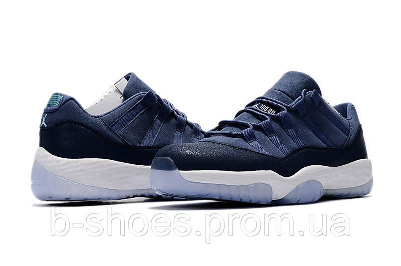 3ec9626182f182 ... Мужские баскетбольные кроссовки Air Jordan Retro 11 Low GS (Blue Moon),  ...
