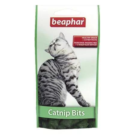 Catnip Bits хрумкі подушечки з котячою м'ятою для кішок і кошенят,35 р, Beaphar