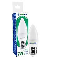 Лампа светодиодная Ledex 7W E27 4000K 665Lm С37 свеча