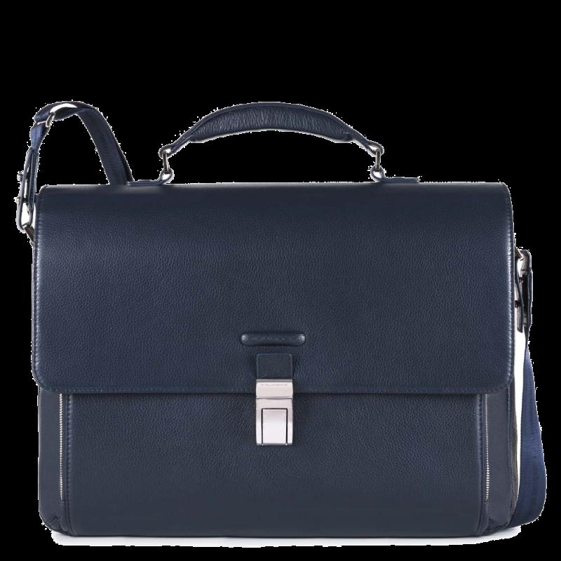 Портфель из кожи Piquadro Modus, CA3111MO_BLU синий