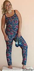 Комбинезон женский летний коттоновый большого размера MARINA, фото 2