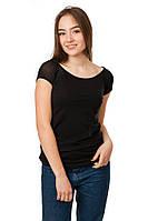 Женская футболка Code Original цвет черный размер 46 B16-1