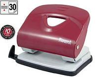 Дырокол Axent Exakt-2 пластиковый верх, 30 листов, красный 3830-06-A