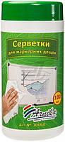 Салфетки влажные Арника для магнитно-маркерних досок 100 шт. 30668