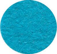 Фетр листовой 21,5*28 см, голубой, 180г/м2