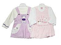 Платья детские велюровые Эстела, фото 1
