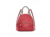 Рюкзак Zara Leather With Wolves Red, фото 1