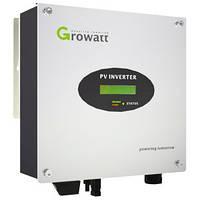 Сетевой инвертор GROWATT 3000S (3кВ, 1-фаза, 1 МРРТ)