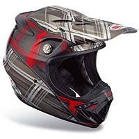 Мотошлем Bell Moto-8 Plaid Red/Black, S