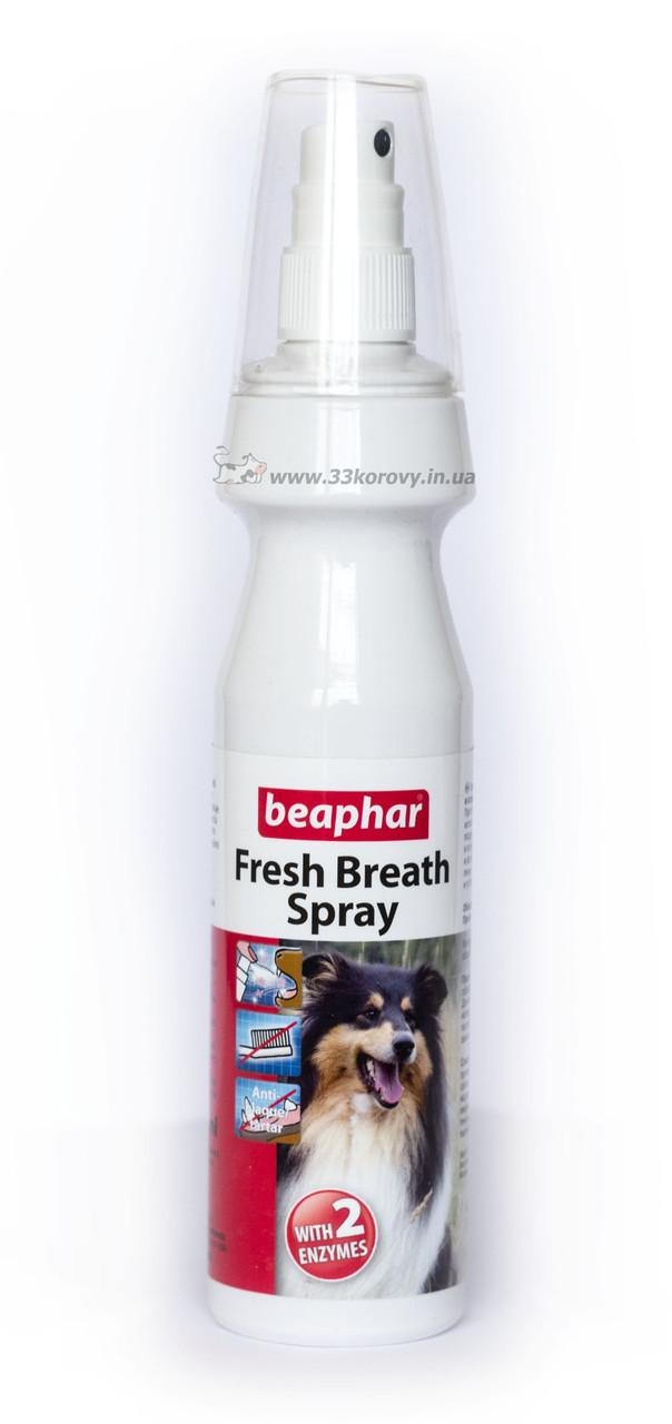 Спрей для обеспечения свежести дыхания и чистоты зубов у собак Beaphar