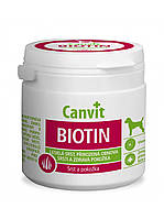 Canvit BIOTIN for dog 100 г (100 табл.) - добавка для здоровья кожи и шерсти собак