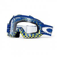 Маска очки для мотокросса Oakley Prooven MX синяя