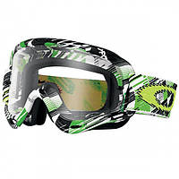 Маска кроссовая Oakley O Frame Mx Green Digi Slash