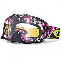 Маска кроссовая Oakley Crowbar MX One Icon Pink