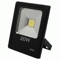 Прожектор светодиодный LED 20W 6500K 1300Lm LEDSTAR SMD (slim)
