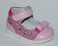 Туфли для девочек Шалунишка, арт. 100-509, кроха-бантик