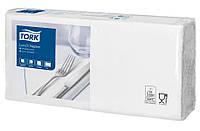 Салфетки бумажные Tork 33Х33см 2 слоя белые 200шт. 477149