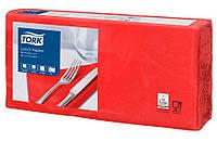 Салфетки бумажные Tork 33Х33см 2 слоя красные 200шт. 477210