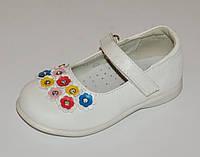 Туфли для девочек MXM, арт. 4062С, белые, размер 21