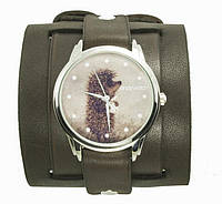 Наручные часы на эксклюзивном ремешке Ежик в тумане   AW 510
