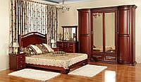 Спальня из массива ольхи или ясеня коллекции «Полесье-4»