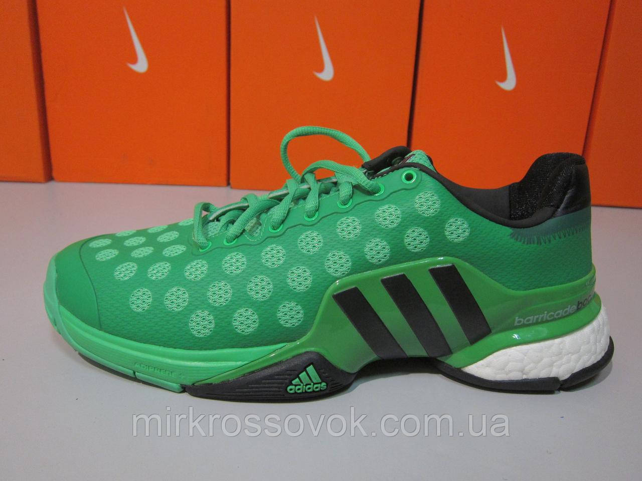 36559106 Кроссовки мужские Adidas Barricade 2015 Boost Tennis Shoes - AW15 (B33484)  (оригинал)