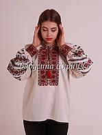 Заготовка Борщівської жіночої сорочки для вишивки нитками/бісером БС-108, фото 1