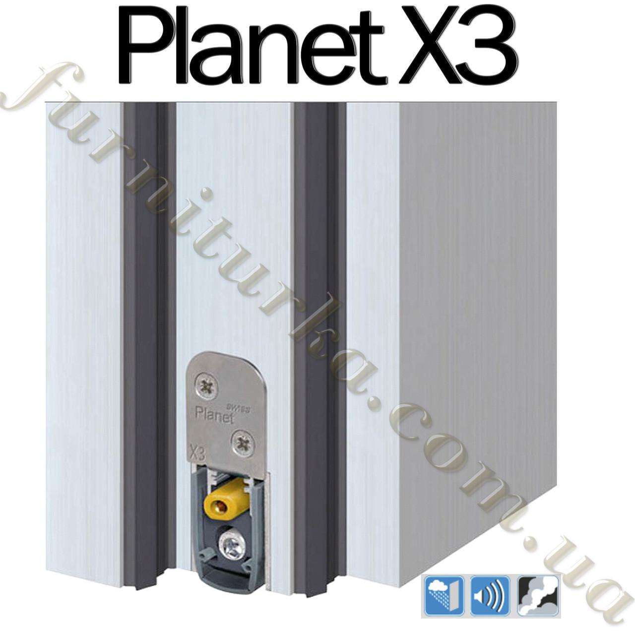 Самоопускающийся порог Planet X3 960мм