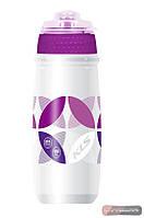 Фляга KLS Atacama с защитным клапаном ✓ цвет: фиолетовый ✓ емкость 550 мл.