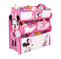 Органайзер - ящик для игрушек Minnie Mouse Delta Children