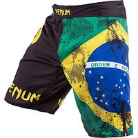 ШОРТЫ ДЛЯ ММА VENUM BRAZILIAN FLAG FIGHTSHORTS
